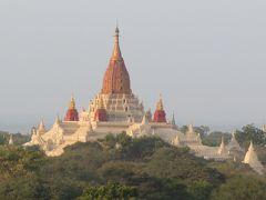 ミャンマーの旅(1)・・バガンのニャウンウー市場、シュエズィーゴォン・パヤー、ティーローミィンロー寺院、アーナンダ寺院を訪ねて