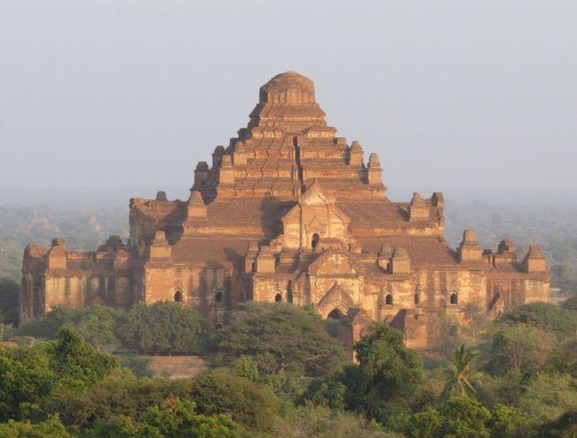 ミャンマーの旅(4)・・バガンのスラマニ寺院、ダマヤンヂー寺院、ガウダウパイン・パヤー、エーヤワディ川を訪ねて