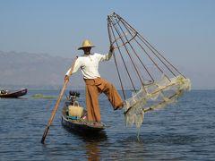 ミャンマーの旅(5)・・インレー湖の伏せ網漁、織物工房、ファウンドーウー・パヤーを訪ねて