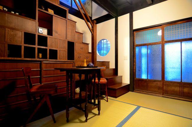 さて、2泊3日で「京都&福井」の旅に行って来ました。<br /><br />旅行記②も京都です。<br /><br />今回の京都行きは、突然に決まった旅行なので、いつも宿泊するホテルが空いてなく、予約できません。<br /><br />なかなかいいホテルが見つからず、さぁどうしよう?<br /><br />そんな時に、テレビで見ていた旅番組で出演者の女優さんが京町家を改築したお宿に宿泊していた事を思い出しました。<br /><br />そうだ!町家に泊まろう!<br /><br />とても素敵な京町家のお宿が見つかりました。<br /><br /><br /><br />京の片泊まり『竹間つゆくさ庵』
