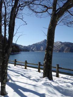 真冬の優雅な日光と鬼怒川温泉の旅♪ Vol11(第1日午後) ☆中禅寺湖の湖畔から冬の雪絶景♪