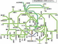 JR、乗り放題チケット「休日おでかけパス」で東京の近郊を巡る、終端駅をプロットしてみた