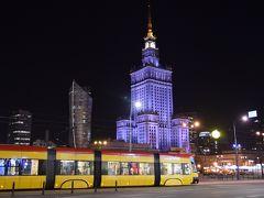 2016.02・冬のマルタ&ポーランド14日間の旅【1】~想像以上に都会のワルシャワの夜に驚きつつも親切な人に好感触の初ポーランド上陸~