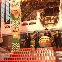 横浜デートvol.2〜春節の中華街で元宵節燈籠祭を見に