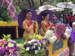 タイ専科⑮-2    2016 チェンマイ フラワーフェスティバル フラワーフロートパレード
