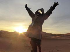 ラクダに乗っていざサハラへ! (親子旅第九弾 モロッコ 11 エルフード早朝編)