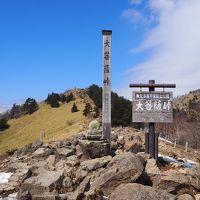 ギリギリの冬景色だった大菩薩嶺周回 (丸川峠から)