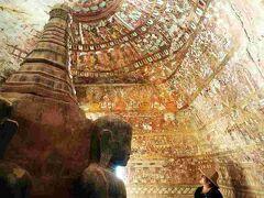 Myanmarひとりっぷ(14/25 )  モンユワからバガンへ6 ポーウィン山5 洞窟472 酪農生活