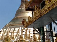 とりあえずシュエンダゴンパゴダとヤンゴン市内散策