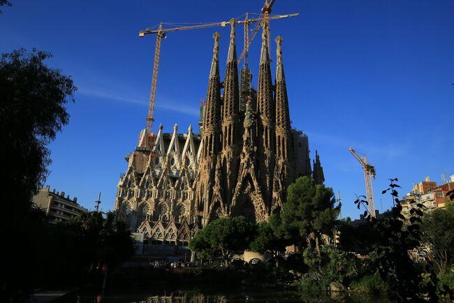 2015年10月 凱旋門賞とポルトガル、スペイン鉄道の旅 (13) バルセロナ-サグラダ ファミリア編