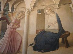 2月のフィレンツェ・ラヴェンナ。夢のような1週間はあっという間に過ぎました。その5再びのフィレンツェ!サン・マルコ美術館の天使の美しさに見とれて、サンタ・クローチェ教会の墓石名にびっくり仰天!!