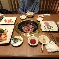 三島広小路駅前の焼肉 成高園(せいこうえん)の夕食 立ち飲み処駅(たちのみどころえき)でイッパイ
