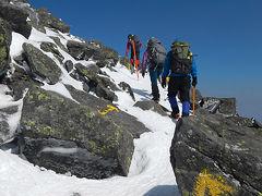 北八ヶ岳雪山ハイク 1日目は蓼科山へ