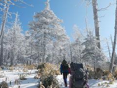 北八ヶ岳雪山ハイク 2日目はピラタスから北横岳へ