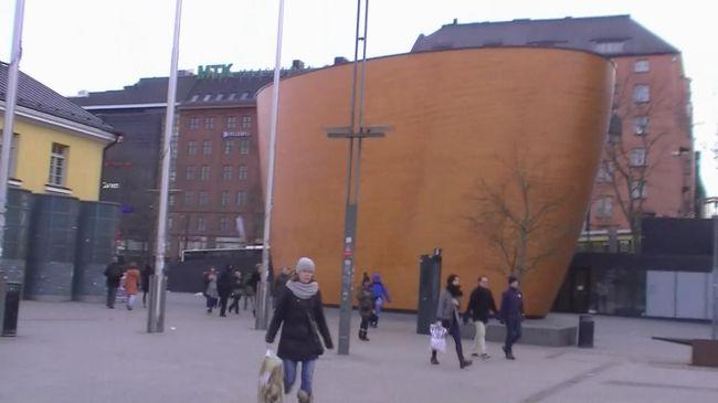 北欧とタリンの旅(11) マンネルヘイム元帥像からテンッペリアウキオ教会、静寂のカンピ礼拝堂へ・・・