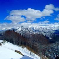 「越後湯沢温泉」雪解け間近な  越後の宿に行ってみよう。
