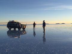 初南米ペルー、ボリビア2週間の旅。⑧ウユニ塩湖デイ、サンセット、ちょこっとスターライトツアー。