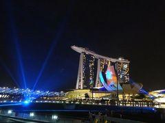 シンガポール 憧れの天空プールへ<1>~MBSのプール、チャイナタウン、アラブストリート、光のショー