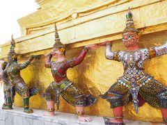 バンコク3泊4日なのに・・・半分機中の旅③【バンコク3大寺院を半日で回っちゃいました♪】