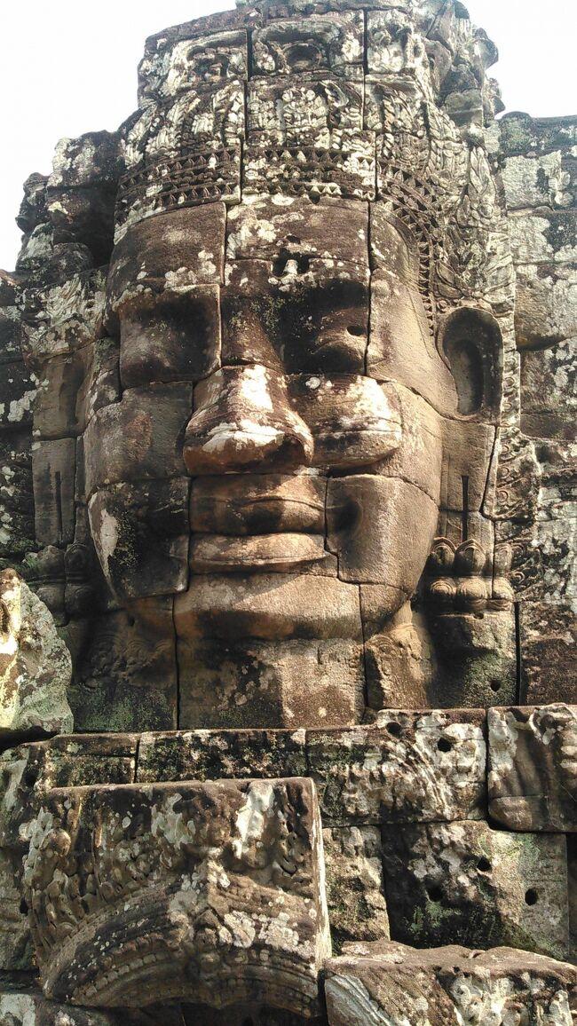 2016年3月23日(水)から30日(水)阪急交通社の「感動のアンコールワットと魅惑のベトナム8日間 ベトナム航空往路直行便利用 全都市デラックスホテルに泊まる!」に参加しました。その1日毎の旅行記です。<br />主な行程は下記の通りです。<br />1日目 成田発ベトナム航空301便 ホーチミン着 市内観光 <br />    ウィンザープラザホテル泊<br />2日目 メコンデルタクルーズ タイソン島 ハノイへ プルマンハノイ泊<br />3日目 バッチャン村 ハロン湾クルーズ 水上人形劇<br />    サイゴンハロングホテル泊<br />4日目 ホーチミン廟 カンボジアシェムリアップ ルメリディアン4連泊<br />5日目 プレアヴィヘア<br />6日目 タプロム パンテアイスレイ アンコールワット<br />7日目 アンコールトム オールドマーケット<br />8日目 シェムリアップ~ホーチミン~成田
