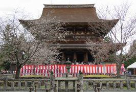 2016春、奈良の桜巡り(8/13):4月3日(8):吉野山(4):金峯山寺、蔵王堂、後醍醐天皇導稲荷、東南院、多宝塔