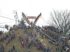 7年に一度の御柱祭へ!長野県旅行