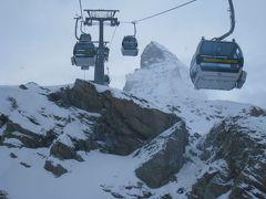 スイスアルプス・マッターホルンに迫る