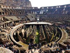 カタール航空Cクラスで行くイタリア周遊旅行 3 ローマ観光