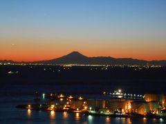 千葉ポートタワー♪~夕暮れと夜景を楽しむ~