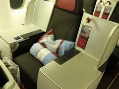 オーストリア航空 ビジネスクラス搭乗記 B777-200