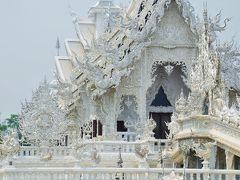 チェンライに行ってみた1 芸術とは何ぞや? 白い寺院と黒い家 オッサンネコの一人旅