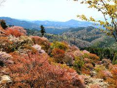 3泊4日で大阪~神戸~姫路(吉野の千本桜見物)