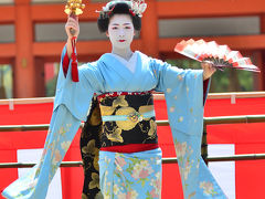 2016 京都平安神宮の例祭翌日祭・神賑行事