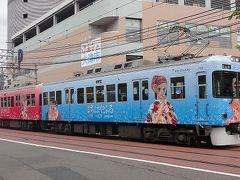 京阪:ちはやふる・鉄道むすめと南海:スター・ウォーズ電車撮影