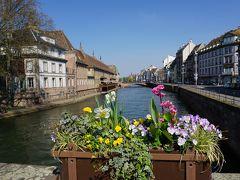 パリ~アルザス・ドライブ #1 - 春のストラスブール「街道の町」を満喫!