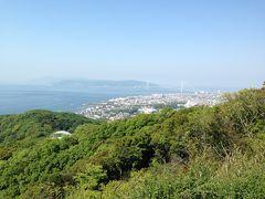 六甲山ウォーキング:JR須磨駅~旗振山~(縦走コース)~高取山~高速長田駅