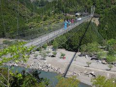 2016.4 京都・奈良・和歌山 −3日目/十津川村(野猿・谷瀬の吊り橋・玉置神社・瀞峡)−