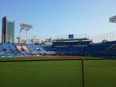 神宮球場に野球観戦に行ったついでに築地も散策してみた「野球観戦編」