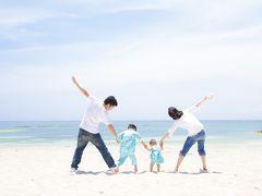美ら海で家族写真を撮ろう♪5歳&0歳の子供と行く、ドタバタ3泊4日の沖縄旅行