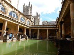 ローマ帝国時代の温泉保養地・バースで温泉に入る