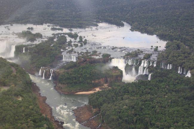 南米の13日間世界遺産巡り(その4)イグアスの滝観光編