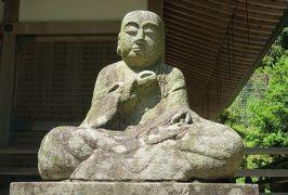 2016春、奈良のお寺の花巡り(10/17):4月30日(10):長谷寺(4):牡丹、弘法堂、空海座像、本長谷寺、五重塔