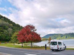 ニュージーランド(北島) キャンパーバンの旅