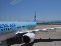 2016年5月韓国鉄道旅行1(KE776便で仁川空港へ)