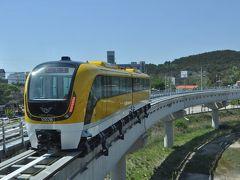 2016年5月韓国鉄道旅行2(仁川空港磁気浮上鉄道)