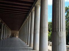 オーシャニア・リビエラ地中海クルーズ。vol.4 アテネのんびり街歩き♪まずは古代アゴラへ。
