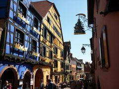 ドイツ木組みの家を訪ねて 町から町へ   リクヴィル、ゾースト、クロンベルク他