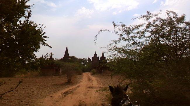 ヤンゴン1泊→バガン3泊→ヤンゴン1泊 <br /><br />女ひとり旅 (*^^)<br /><br />バガン遺跡に魅かれ ドキドキのミャンマーひとり旅<br />現地の人々の温かさや笑顔に出会い 各国の旅人との交流あり 笑みが絶えない<br />そんな旅になりました<br /><br />2日目 Yangon→Bagan  ◆仏塔に金箔貼り体験