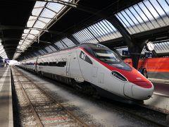 飛行機代約11万円(+JAL25,000マイル)世界一周の旅10日目その2 チューリッヒ→ミラノ ユーロシティ乗車