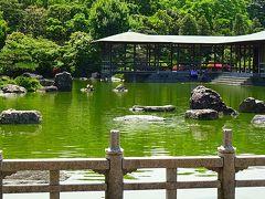 堺市大仙公園 日本庭園 下巻
